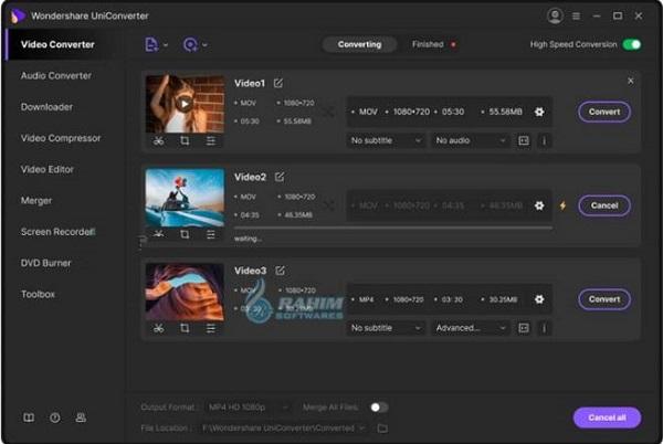 Wondershare UniConverter 13 Free Download