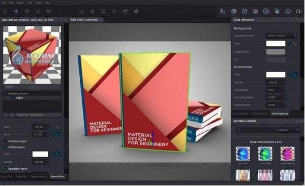 3D mockup software