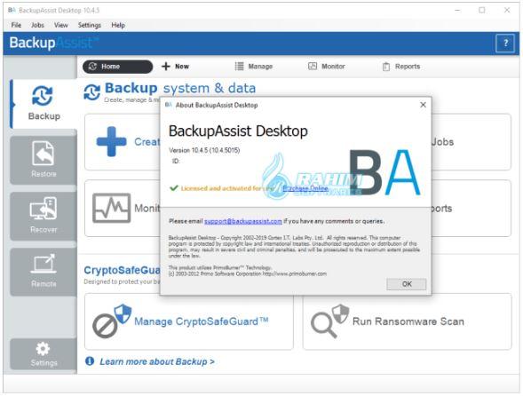 Backup assist download