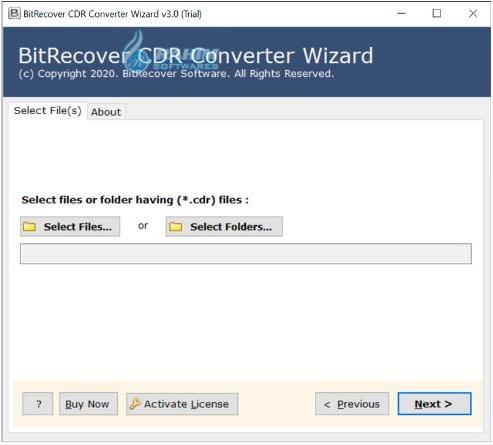 BitRecover CDR Converter Wizard