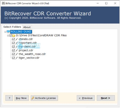 Corel Draw file Converter to lower version software