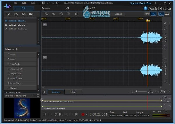 CyberLink audio Director Free Download