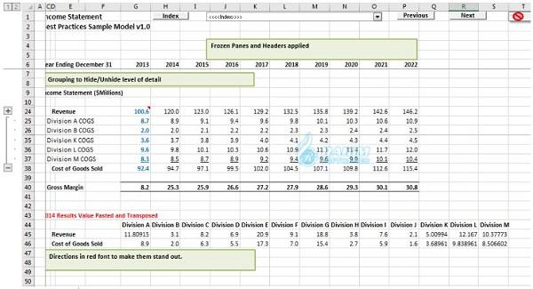 How to practice Excel skills