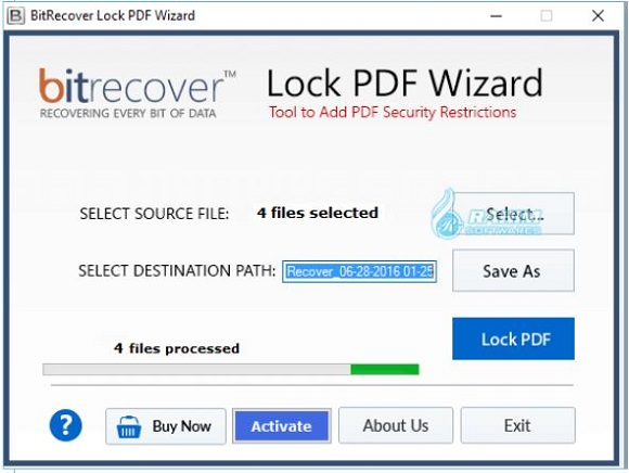 How to save a protected PDF
