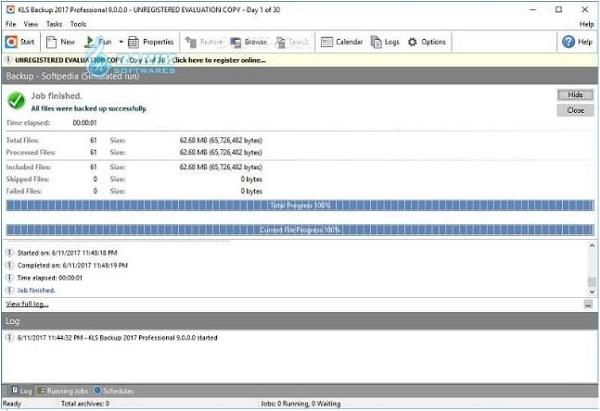 KLS Backup software