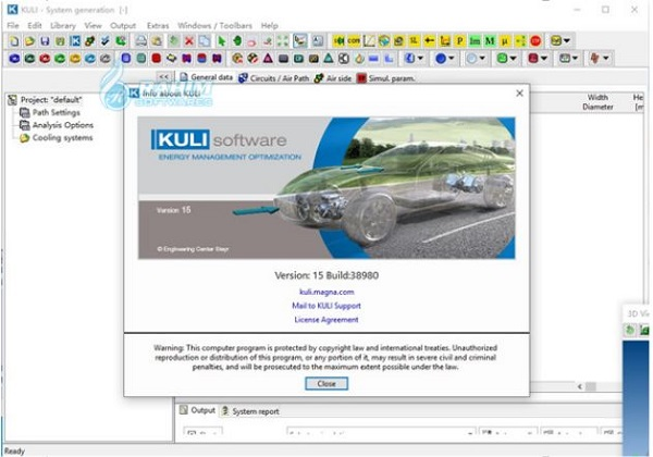 KULI software tutorial