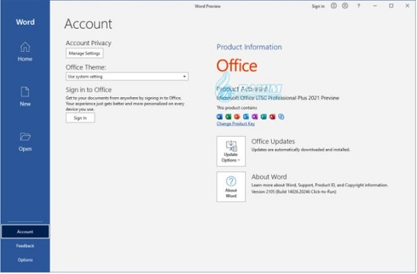 Microsoft Office 2021 free download for Windows 10