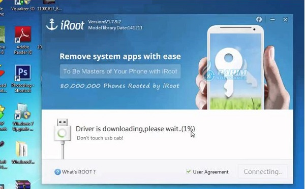 Root software for PC