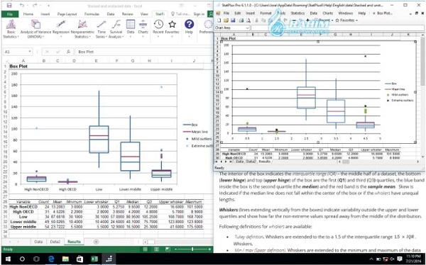 StatPlus free download Windows