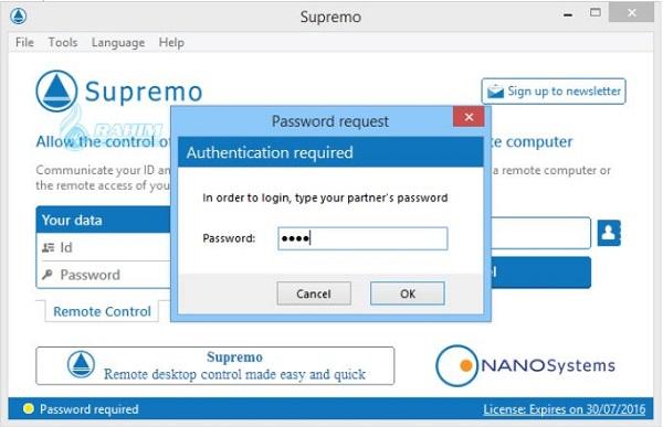 Supremo remote desktop download