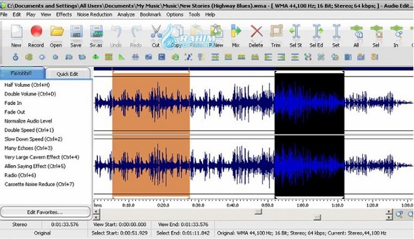 ThunderSoft Audio Editor Deluxe 8