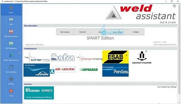 Welding software