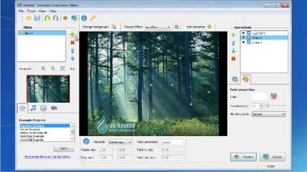 animated screensaver maker download