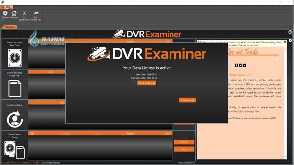 DVR Examiner training