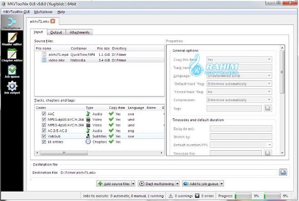 MKVToolNix download for Windows 10