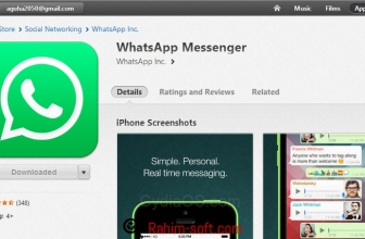 Get whatsapp software on wifi device