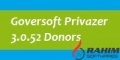 Goversoft Privazer 3.0 Donors Free Download